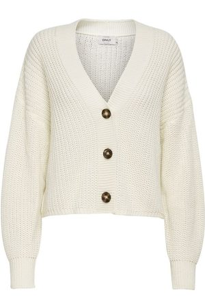 Only Texture Knitted Cardigan Dames Grijs