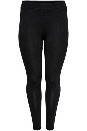 Only Curvy Legging Dames Zwart