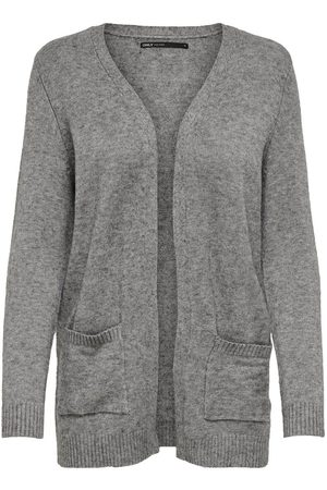 Only Open Knitted Cardigan Dames Grijs