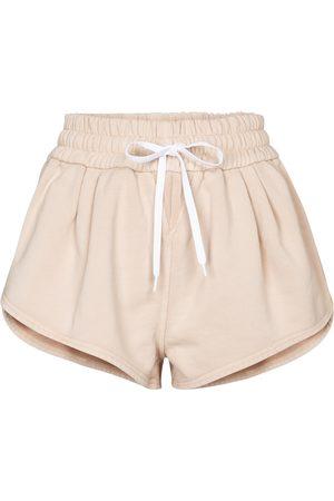 Miu Miu Cotton jersey shorts