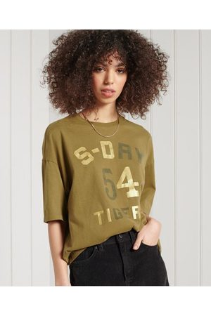 Superdry Wijdvallend Military Narrative T-shirt