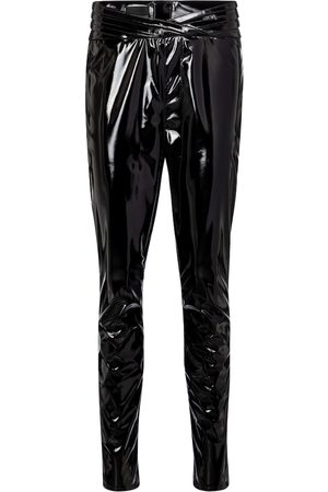 RTA Dames Slim & Skinny broeken - Kyle high-rise skinny latex pants