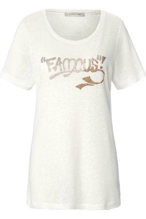 Margittes Dames Shirts - Shirt met ronde hals en korte mouwen Van