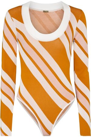 DODO BAR OR Striped bodysuit
