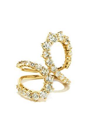Melissa Kaye Aria Jane Diamond & 18kt Gold Ring - Womens - Yellow Gold