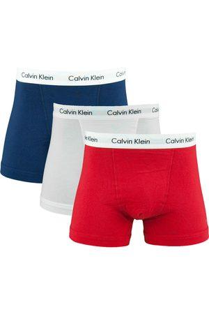Calvin Klein Heren Boxershorts - Boxershorts 3-pack -wit-blauw