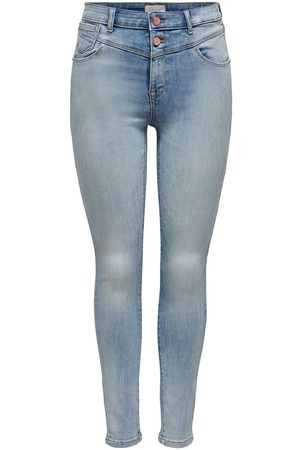 Only Onlchrissy Life Hw Skinny Jeans Dames Blauw