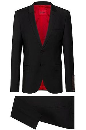 HUGO BOSS Extra-slim-fit suit in a super-flex wool blend