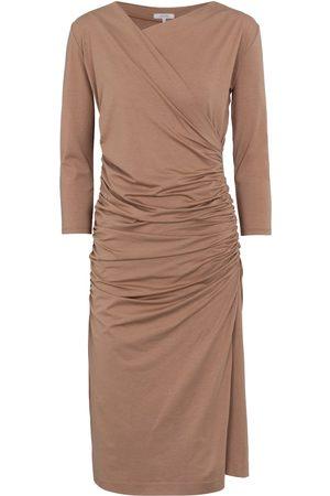 Dorothee Schumacher Exclusive to Mytheresa – Fascinating Drapes cotton-blend midi dress