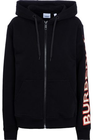 Burberry Zipped cotton hoodie