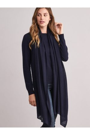 Repeat Dames Sjaals - Oversized sjaal met ribdetails