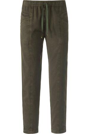 Peter Hahn Dames Broeken - Enkellange broek in jogg-pant-stijl model Cornelia Van