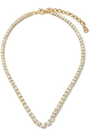Shay Diamond & 18kt Gold Choker - Womens - Yellow Gold