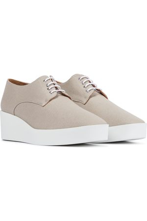 Robert Clergerie Lindsi platform canvas Derby shoes