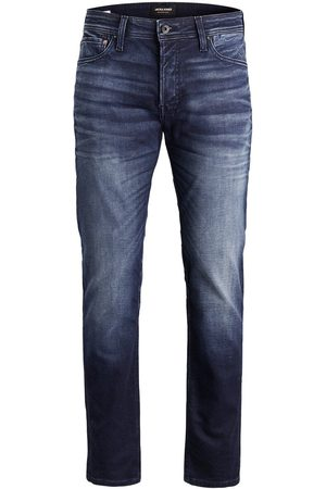 Jack & Jones Mike Original Jos 597 Indigo Knit Comfort Fit Jeans Heren