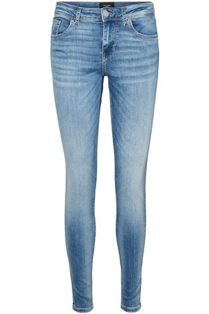 Vero Moda Vmlux Normal Waist Slim Fit Jeans Dames
