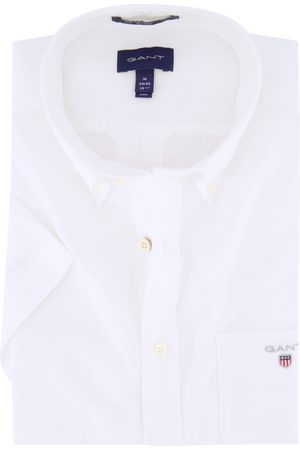 GANT Plain Broadcloth shirt korte mouw
