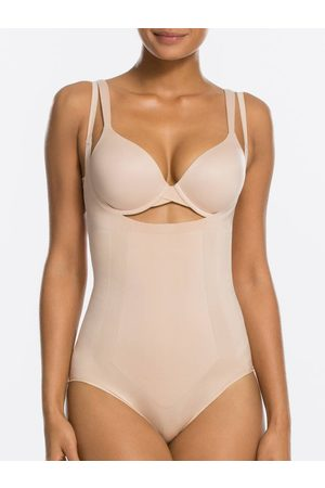 Spanx Open-Bust Bodysuit OnCore | Soft Nude