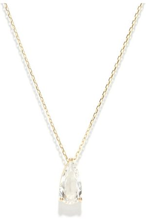 Suzanne Kalan Topaz & 14kt Gold Necklace - Womens - Yellow Gold