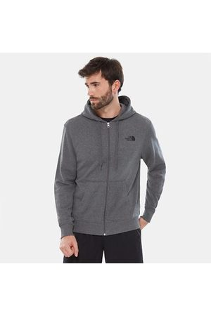 The North Face The North Face Open Gate Light Herenhoody Met Volledige Rits Tnf Medium Grey Heather Größe L Heren