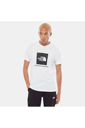 The North Face The North Face Raglan Redbox T-shirt Voor Heren Tnf White Größe L Heren