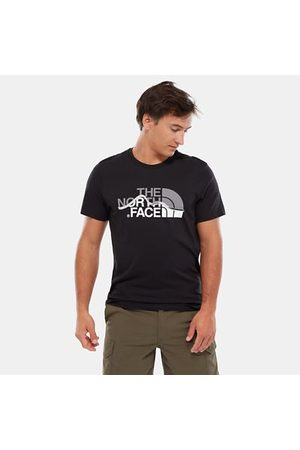 The North Face The North Face Mountain Line-t-shirt Voor Heren Tnf Black Größe L Heren