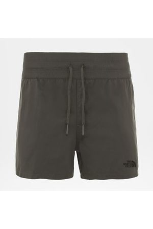 The North Face The North Face Aphrodite-short Voor Dames New Taupe Green Größe L Normaal Dame