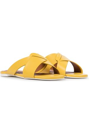Robert Clergerie Dames Slippers - Issy leather slides