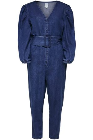 Only Denim Jumpsuit Dames Blauw