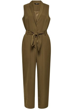 Only Sleeveless Jumpsuit Dames Bruin