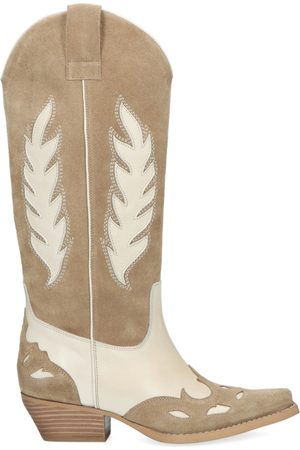 Sacha Western boots met off white details