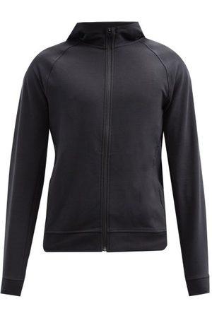 Lululemon Heren Sweaters - City Sweat Zip-through Jersey Hooded Sweatshirt - Mens - Black