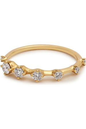 Fernando Jorge Dames Ringen - Sequence Diamond & Gold Ring - Womens - Gold