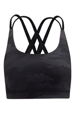 Lululemon Energy Medium-impact Sports Bra - Womens - Black Multi