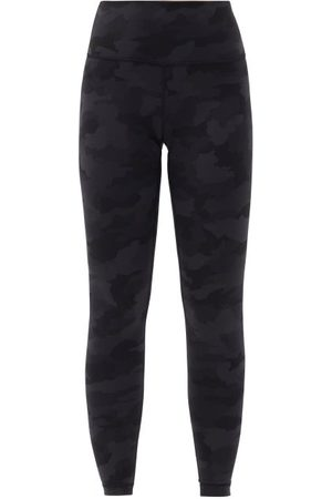 "Lululemon Wunder Under Camouflage High-rise 28"" Leggings - Womens - Dark Grey"