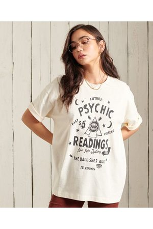 Superdry Oversized Workwear T-shirt met grafische prints