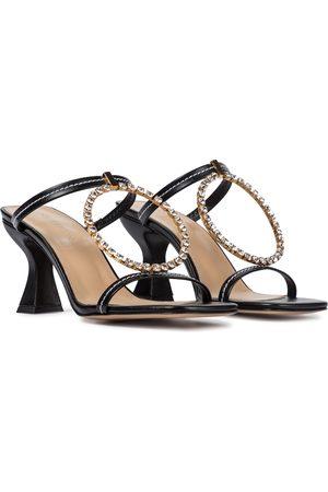 J.W.Anderson Embellished leather sandals