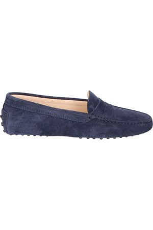 Tod's Dames Loafers - Gommino Driving Shoe Blue