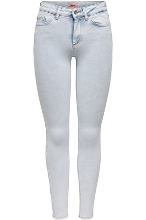 Only Onlblush Life Ankle Skinny Jeans Dames Blauw