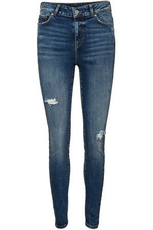 Vero Moda Vmseven Regular Waist Slim Fit Jeans Dames