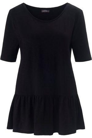 Mybc Shirt met ronde hals en korte mouwen Van