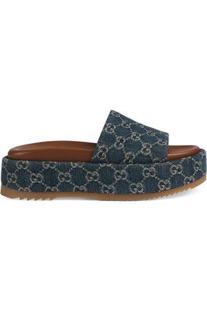 Gucci Women's platform slide sandal