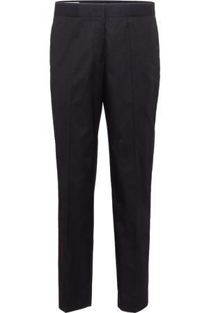 Jil Sander High-rise cotton gabardine straight pants