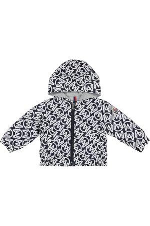 Moncler Baby Barsabas logo-print jacket