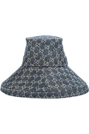 Gucci GG jacquard denim hat