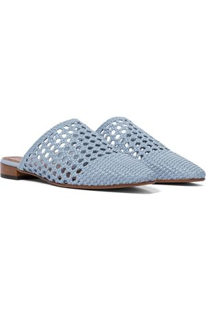 Souliers Martinez Exclusive to Mytheresa – Espalmador 30 woven mules