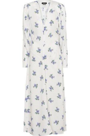 Isabel Marant Bagenia floral midi dress