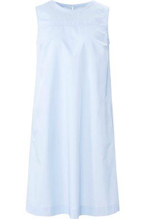 Peter Hahn Dames Mouwloze jurken - Mouwloze jurk 100% katoen plooien achter Van