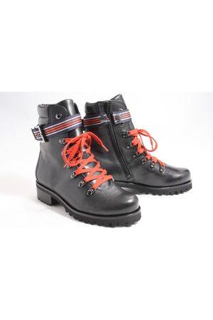 Hassia Dames Cowboy & Bikerboots - 302080-0100 biker boots