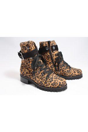 Hassia Dames Cowboy & Bikerboots - 302085-1101 biker boots